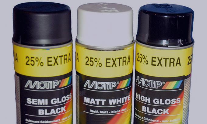 Paint Aerosols - Car Paint Spray