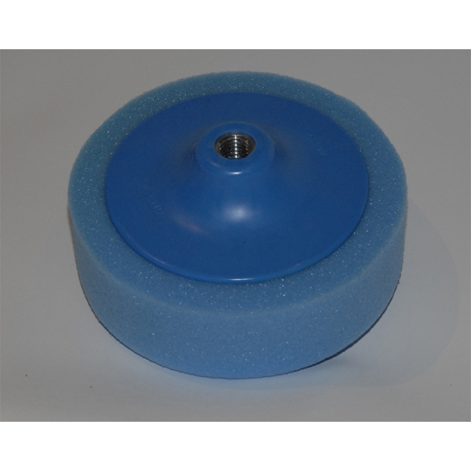 Blue foam polishing head