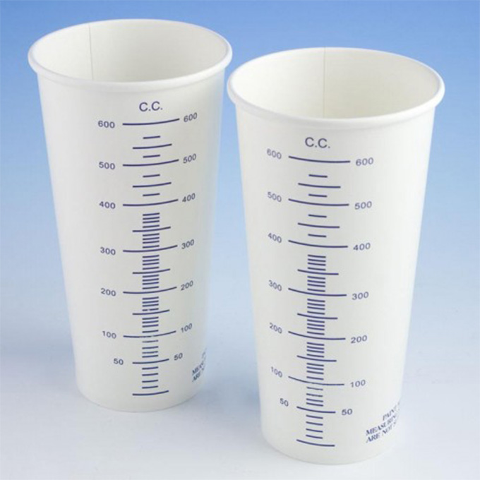 Calibrated Card Cups