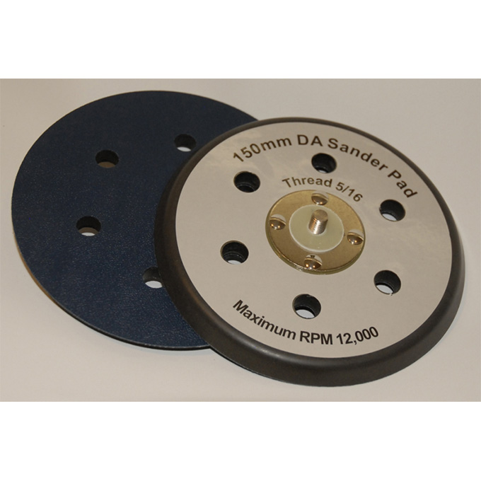DA Backing Pad 150 X 5/16 UNF PSA 6 Hole