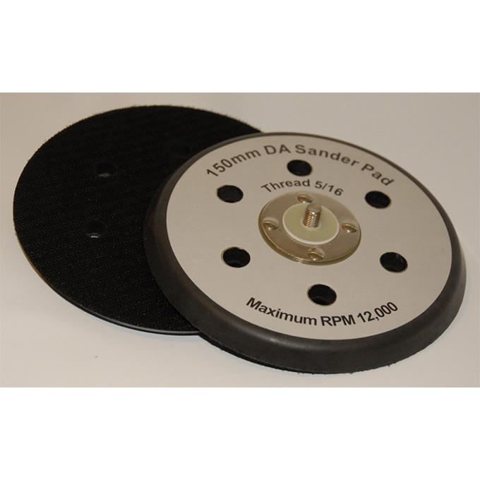 DA Backing Pad 150 X 5/16 UNF Velcro 6 Hole