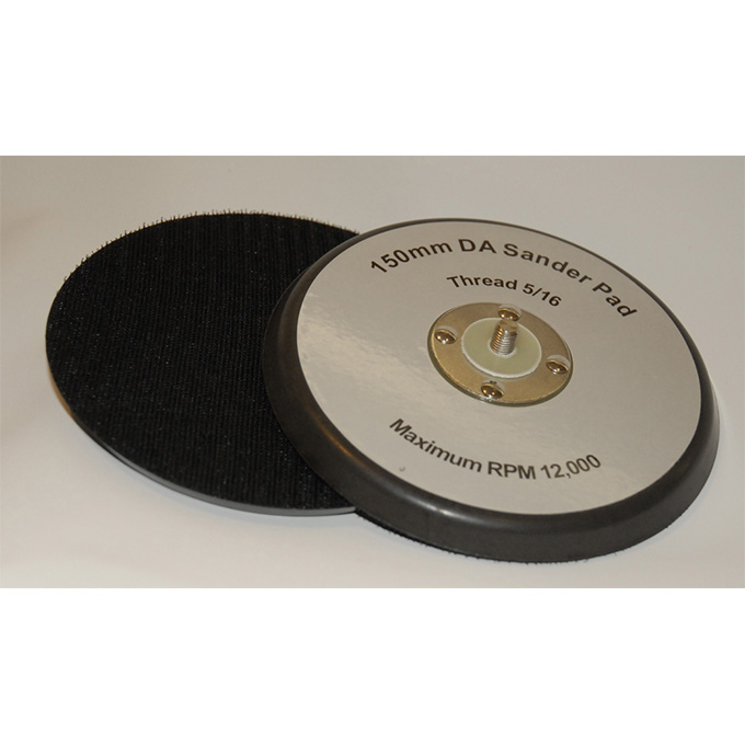 DA Backing Pad 150 X 5/16 UNF Velcro No Hole