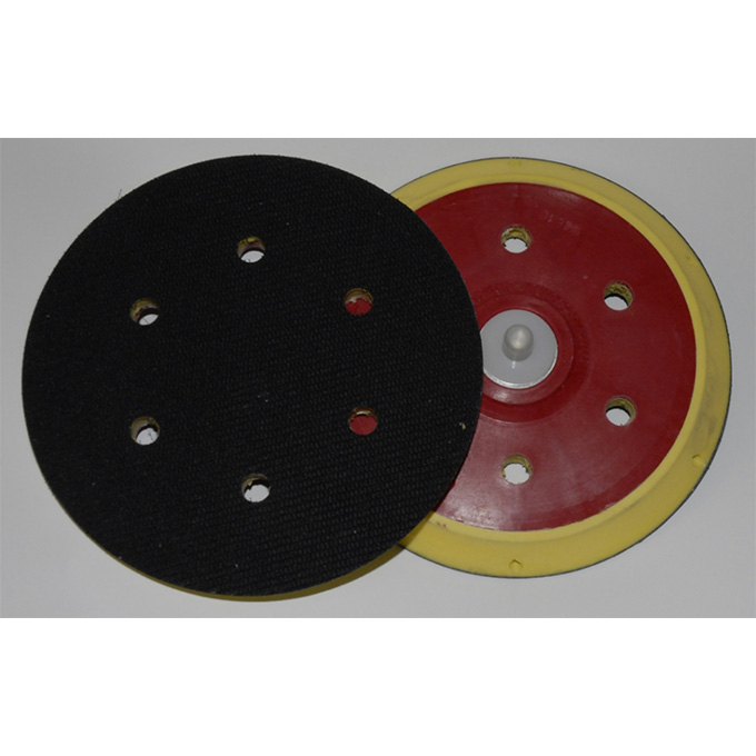 DA Backing Pad Standard Profile 150 X 5/16 UNF Velcro 6 Hole