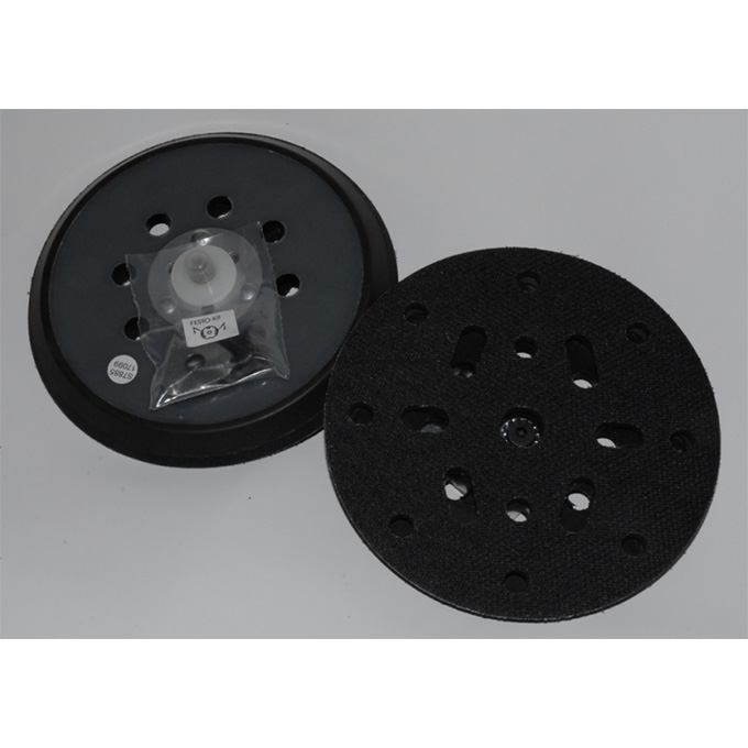 DA Backing Pad Thick Profile 5/16 UNF & M8 Velcro Multi Hole