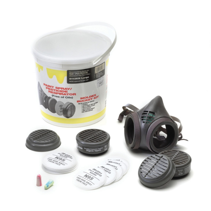 Moldex Re-Useable Half Mask Respirator Complete
