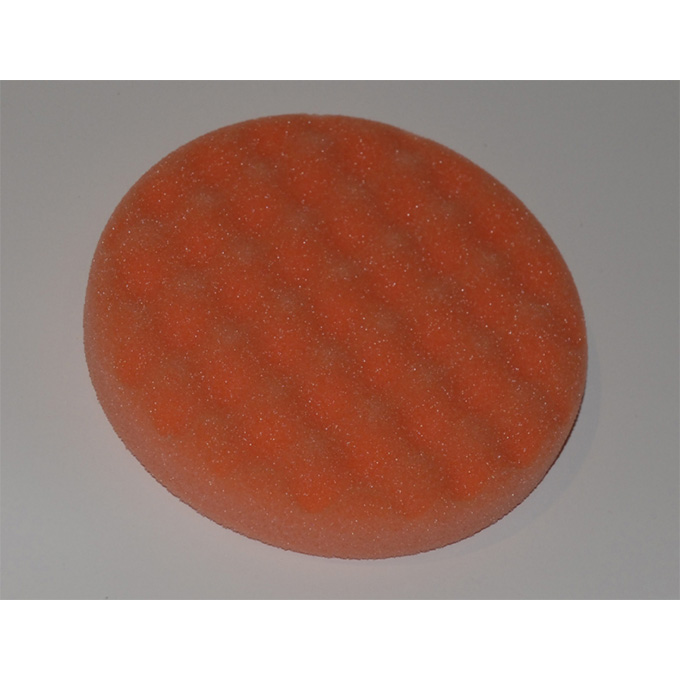 Orange Coolshine Foam for car bodies