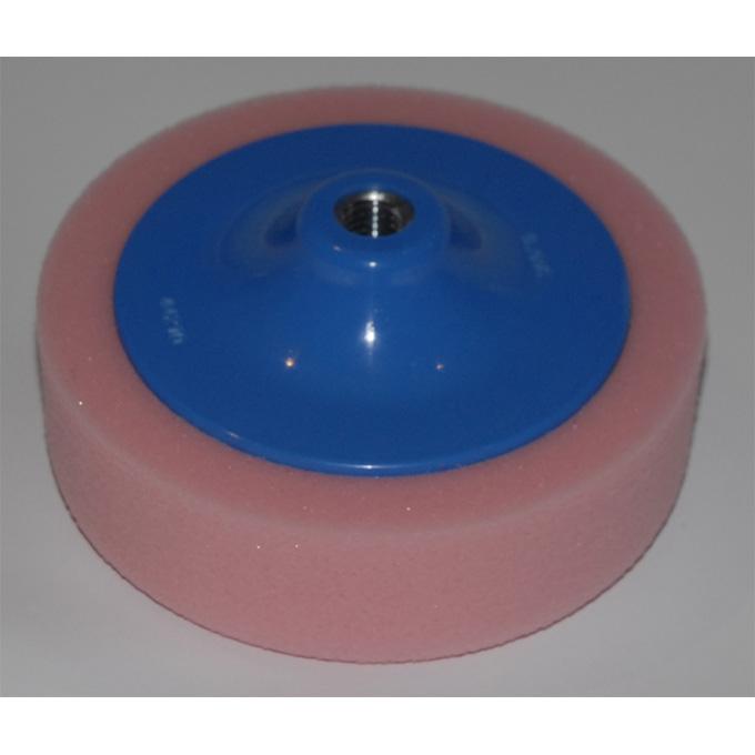 Pink Foam Polishing Head for car bodies