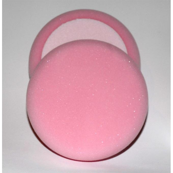 Pink Foam Polishing Head Velcro