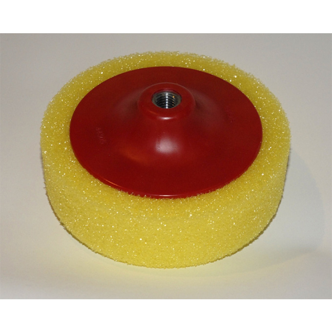 Yellow Foam Firm Polishing Head for Car Bodies