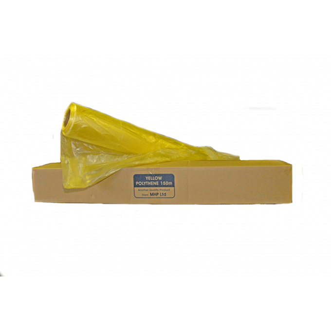 Yellow Polythene Masking Film